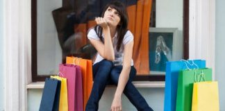 Behaviour of A Shopping Addict