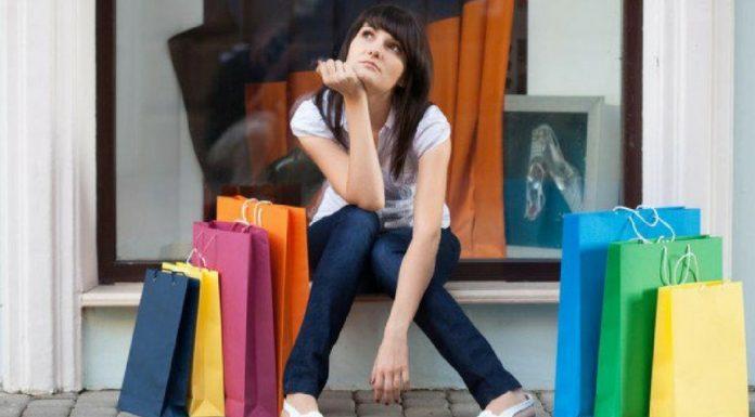 Behaviour of A Shopping Addict