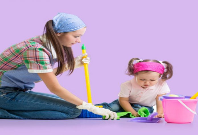 Toddler and a Clean House – Totally Possible!