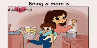 Beautiful Cartoons That Capture Your Experiences Of Being a Mom