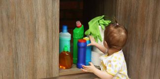 Spotting and keeping Household Poisons Away from Infants
