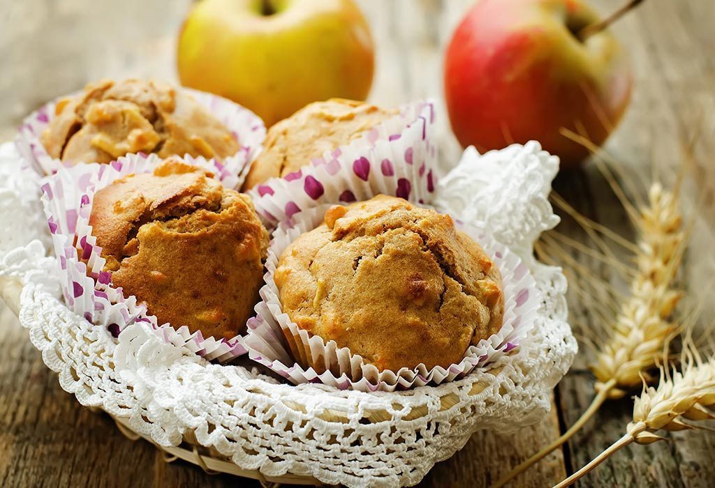 Apple Muffins with Quinoa
