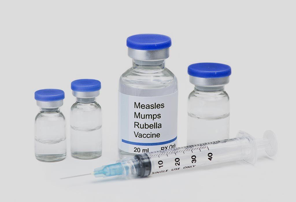 Measles, Mumps and Rubella (MMR 3)