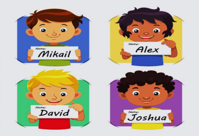 name recognition in young children
