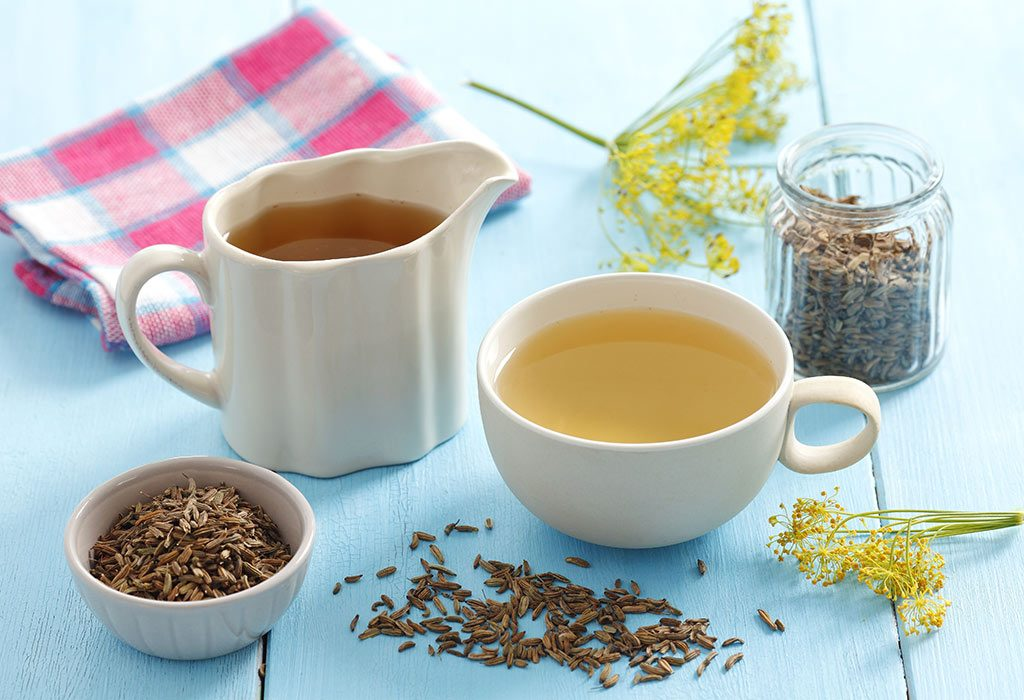 Tea With Fennel Seeds