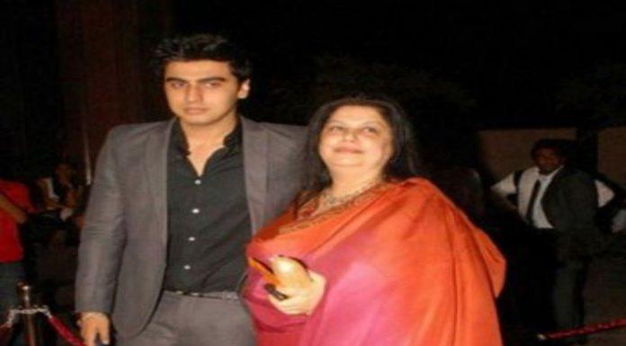 Arjun Kapoor With Mom