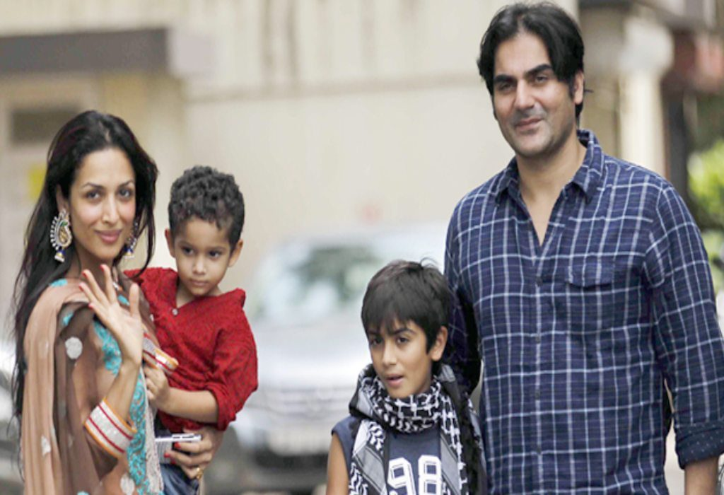 Malaika Arora with kids