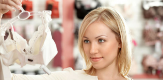 Women Purchasing Inner Wear