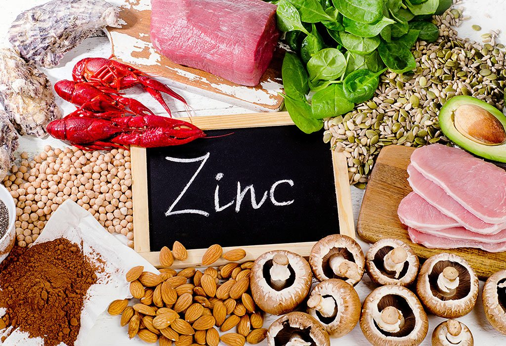 Zinc rich food sources