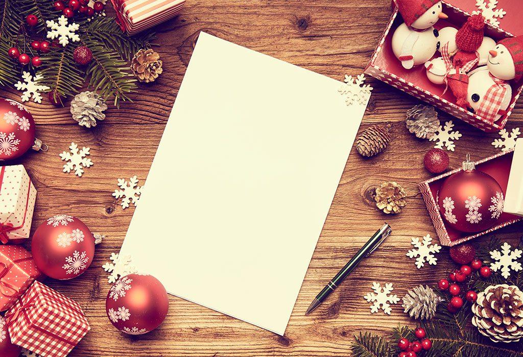 Christmas Sard and Decorations
