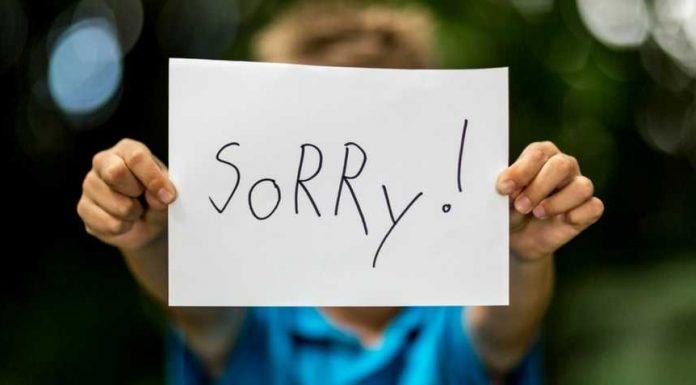 Teaching Children how to Apologise