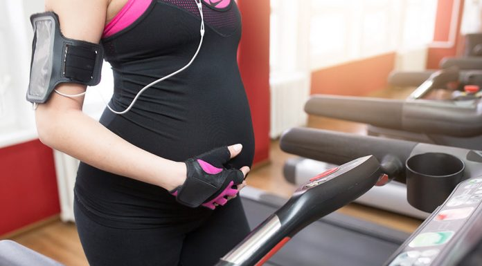 Using treadmill during pregnancy