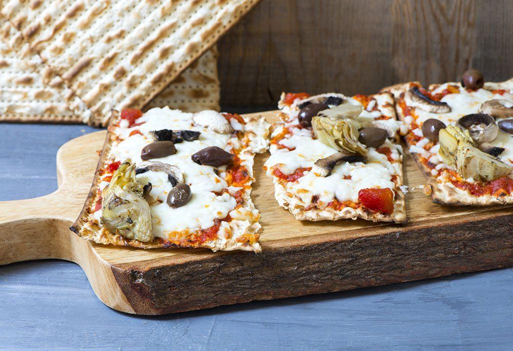 Cracker Pizzas