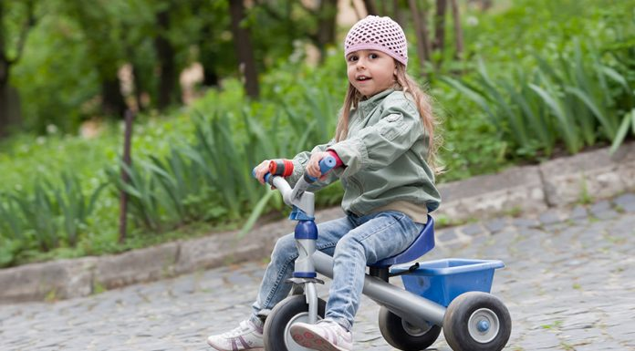 things kids can learn by riding a tricycle