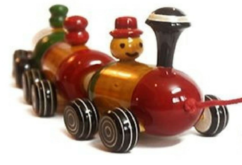 Boogie Woogie Colorful Indian Wooden Train