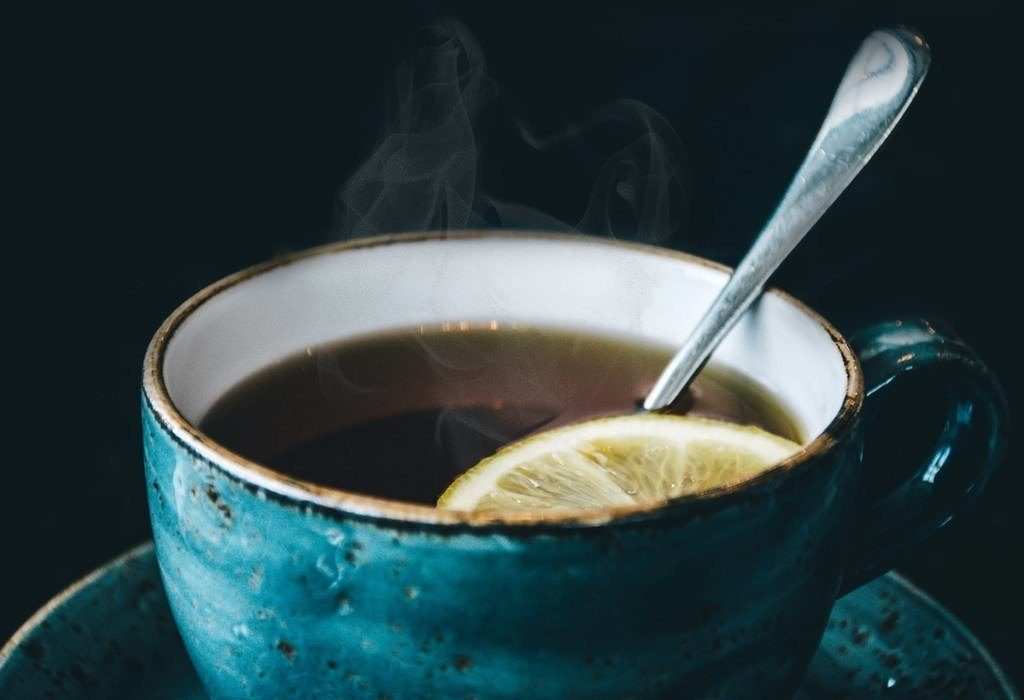 Hot Water with Honey and Lemon