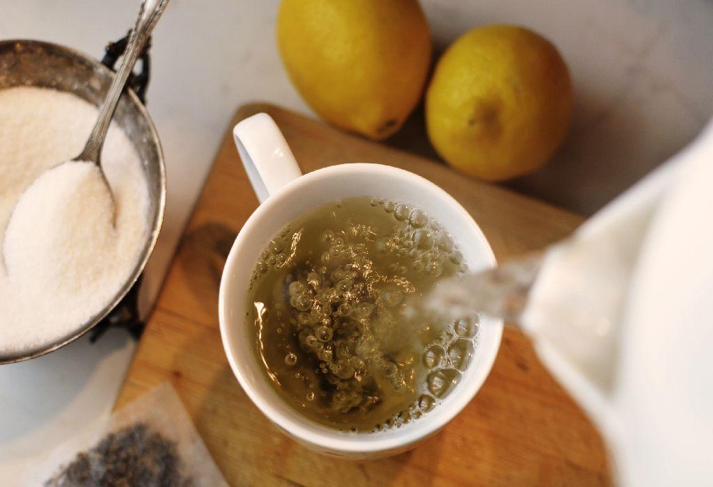 ginger garlic tea