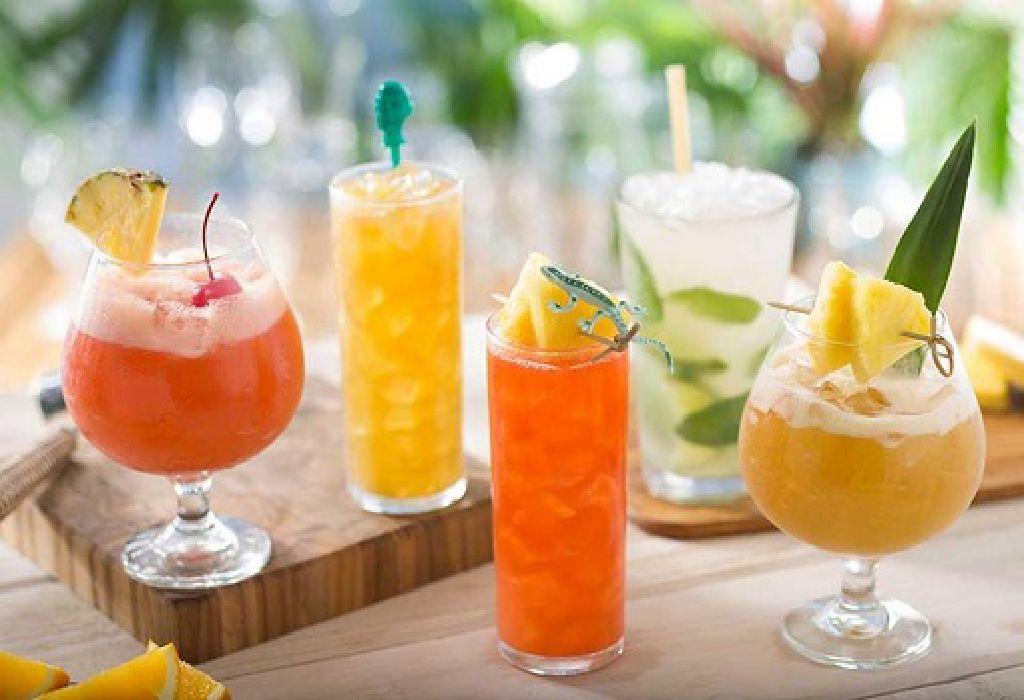 Make fresh fruit juices