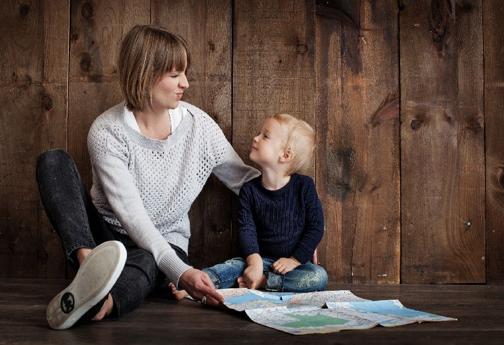 Communicate with your toddler as often as possible.