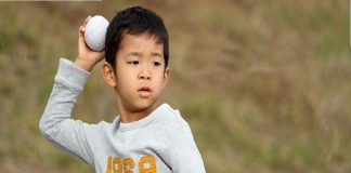 Teaching Overhand Throw To Preschooler