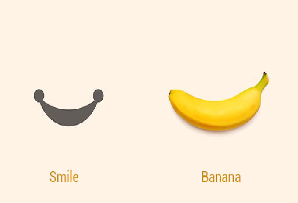 Banana and Smile