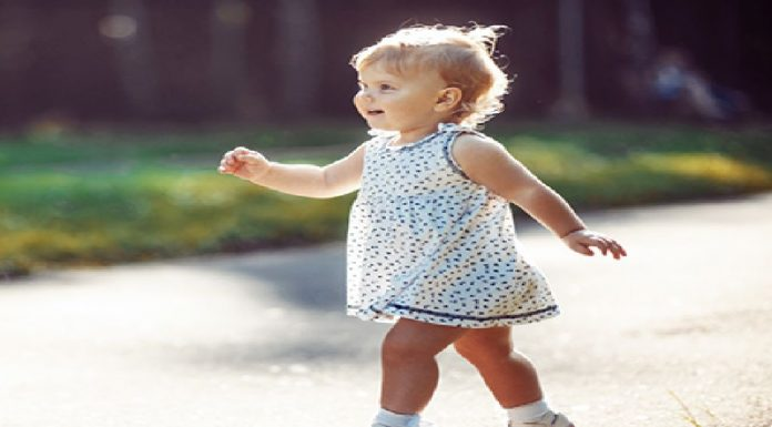 Smooth Heel-to-toe Walking in Toddlers