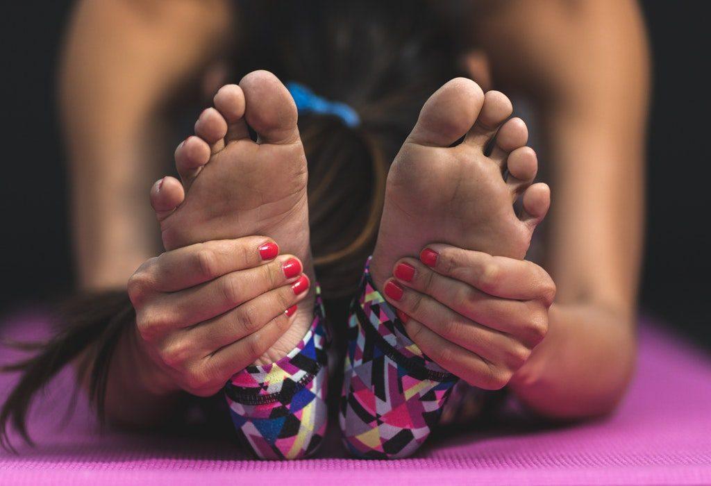 Toe Stretching