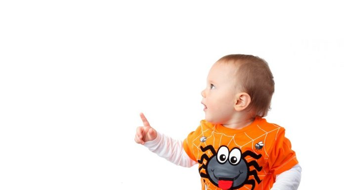 Understand pointing skills of 1 year old baby