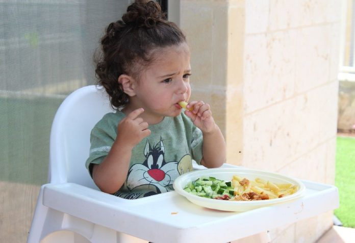 Textured Foods and Your 1 Year Old