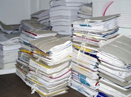 how to dump some of those important papers
