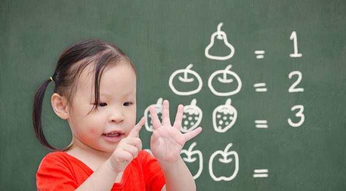 How toddlers count objects from 1 to 10