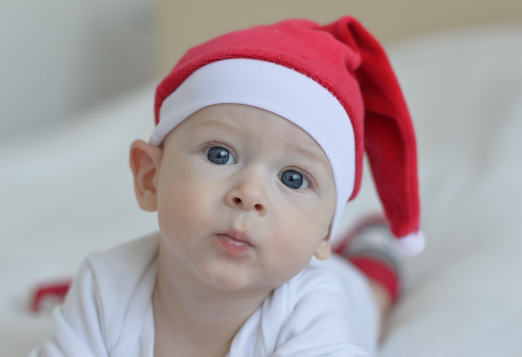 Baby Portrait Photography For Christmas