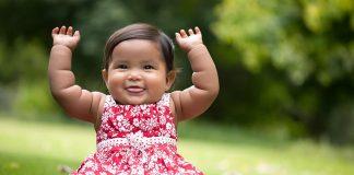 Baby Blowing Raspberries - A Developmental Milestone