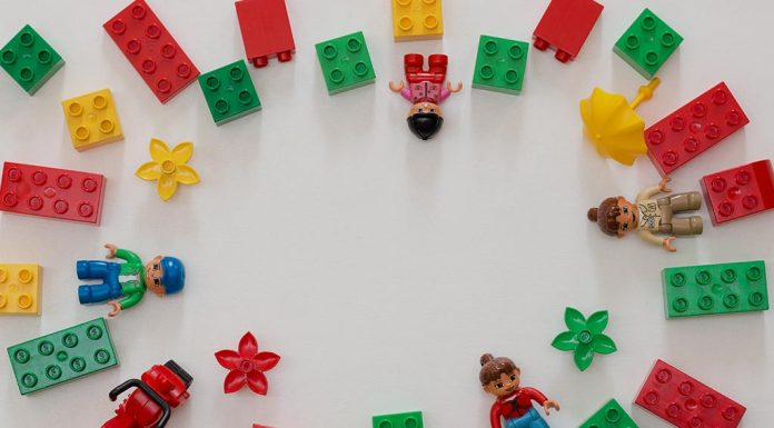 Giving Your Toddler a Lego Set