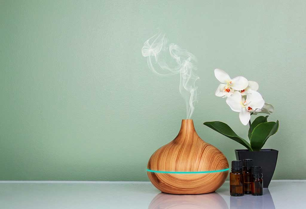 use diffuser for aromatherapy