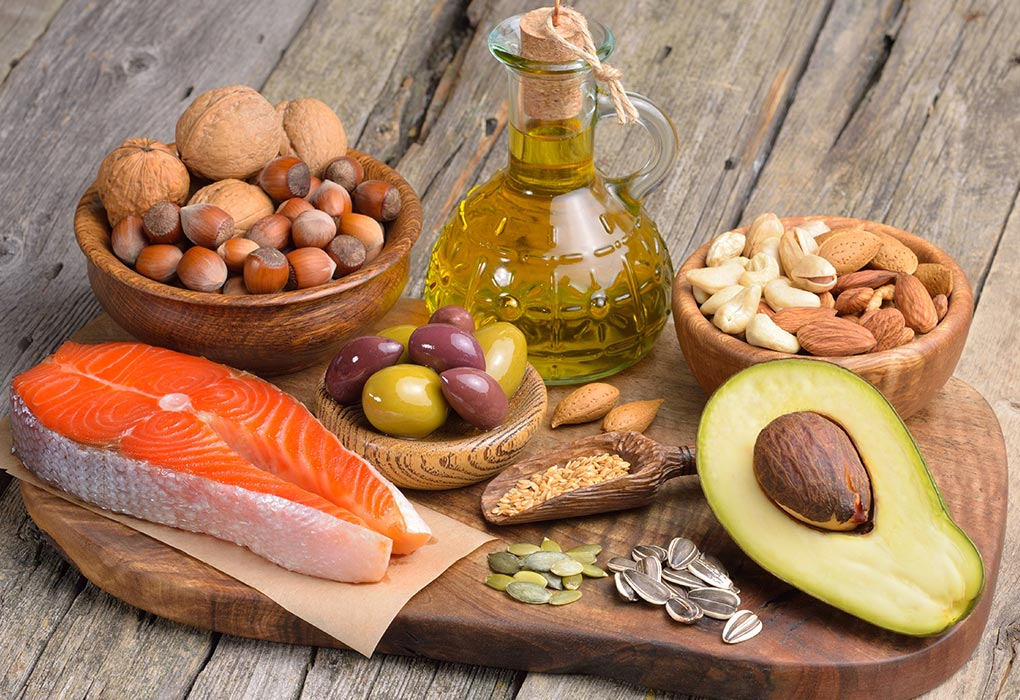 Foods with Source of Fatty Acid