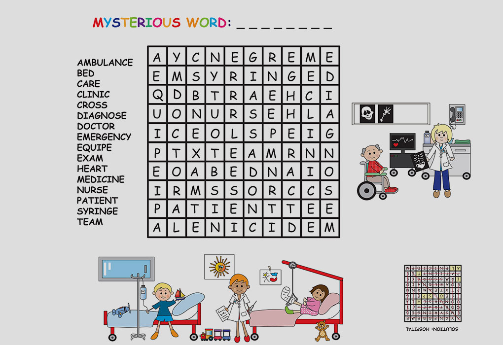 15 Simple Easy To Do Crossword Puzzles For Preschoolers Kids