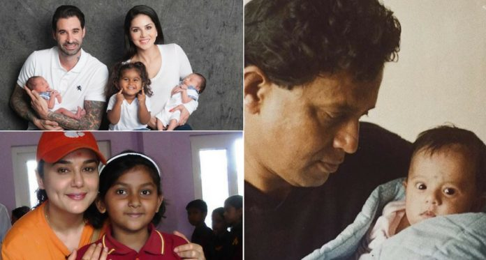 14 Indian Celebrities Who Adopted Kids and Set An Example for Us All!