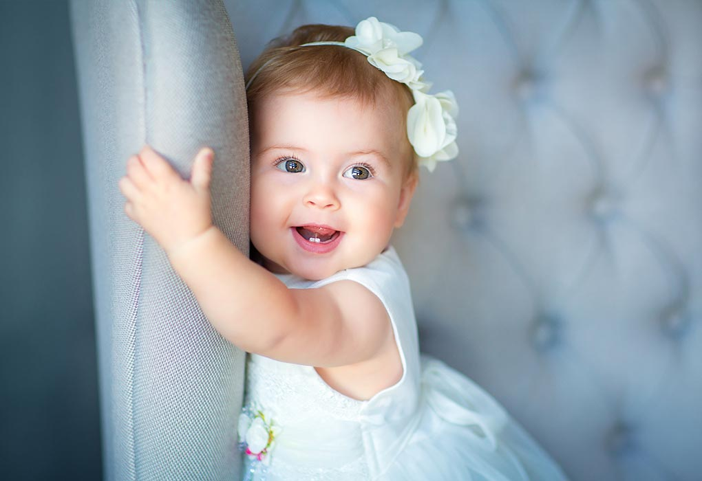 Little Princess Baby Smiling Pic