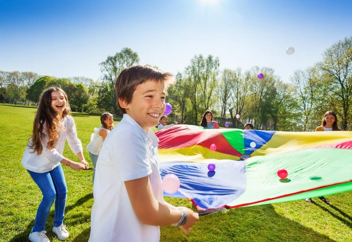 Amazing Parachute Games for Kids