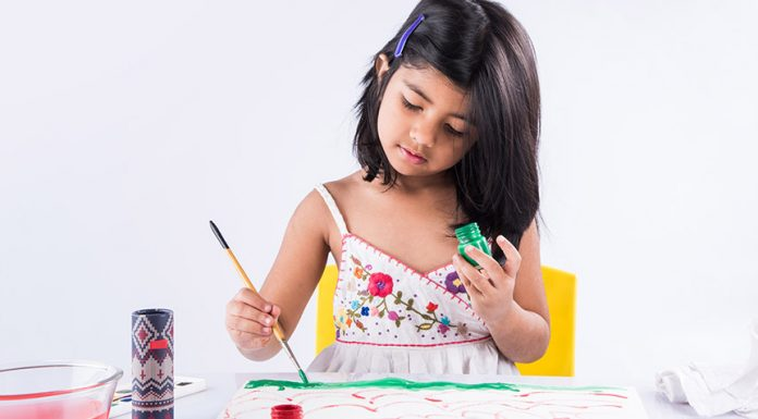 key developmental stages in art for pre schoolers