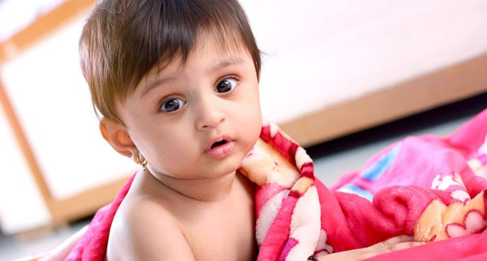skin problems babies risk facing in winter
