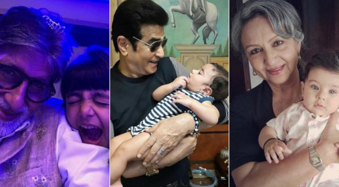 9 Doting Bollywood Grandparents Who Will Make You Smile!