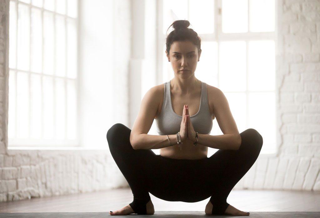 Malasan, or Garland Pose (also known as Yoga Squat)