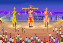 Navratri and Dussehra Facts for Kids