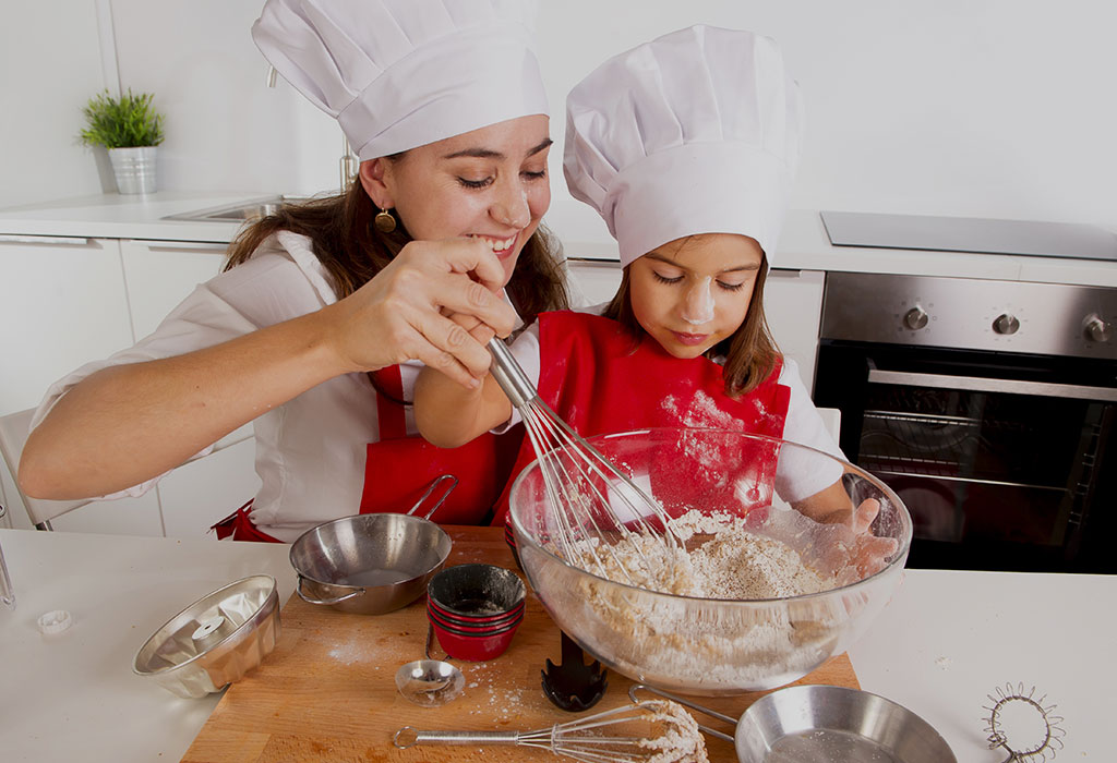 Advantages of Cooking With Toddlers