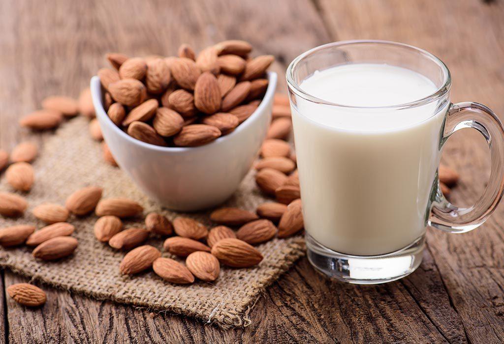Badam Milk for Babies