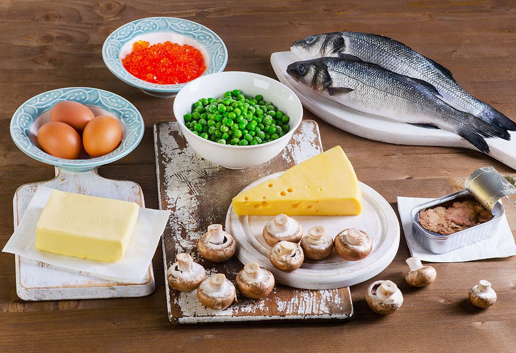 Food Sources for Vitamin D