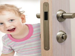 how to toddler proof your doors