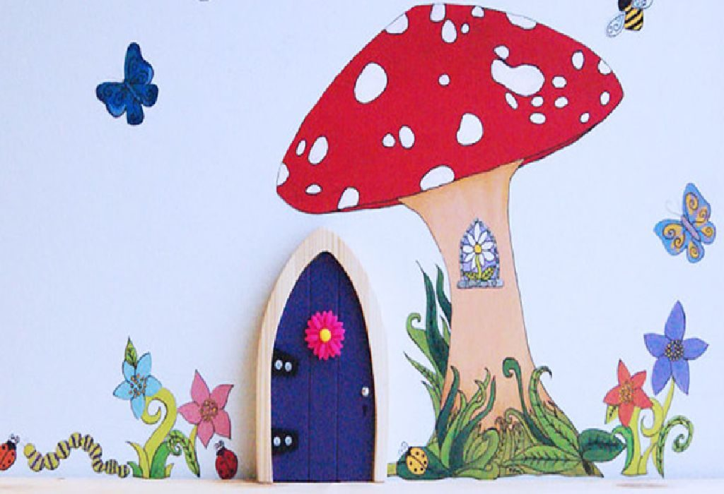 use fairy doors to boost childs development